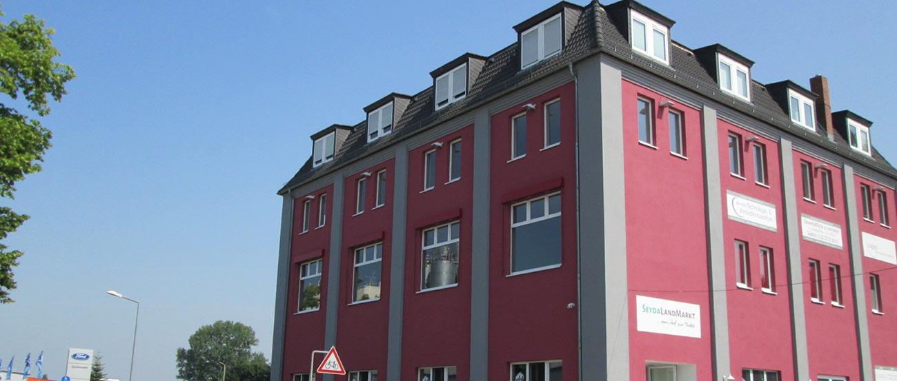 Das Dentale Technologie- und Innovationszentrum von Rißmann Zahntechnik am Standort Jessen