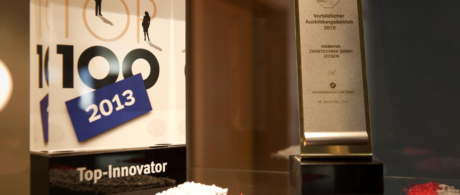 Zahntechnik Rißmann schreibt Werte groß und gehört zu den Top-Innovatoren.